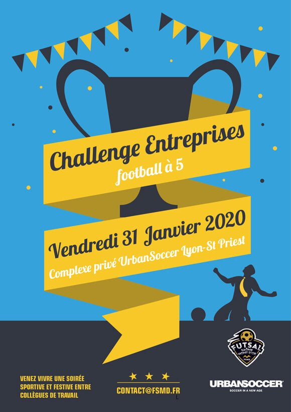 Tournois de foot inter-entreprises de janvier 2020