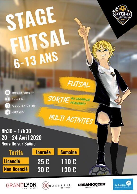 Stage futsal kids Fsmd