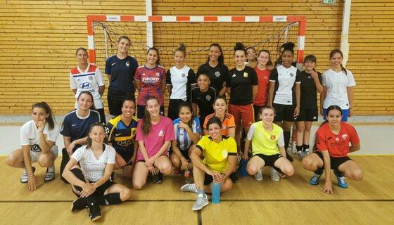 Depuis 2020, le Goal Futsal Club vous propose une équipe féminine de futsal