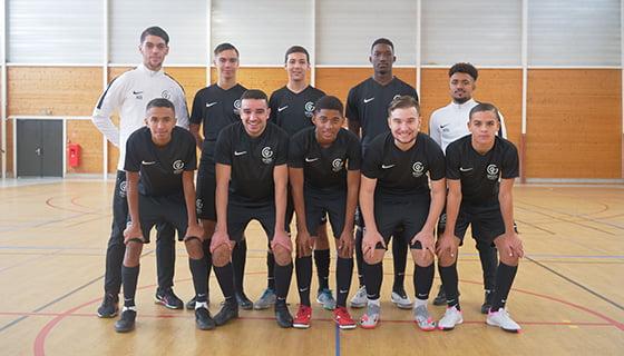 L'équipe formation U18